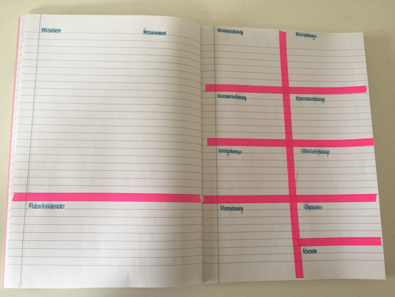 Lijstjes neverdullmoments for Planning maken